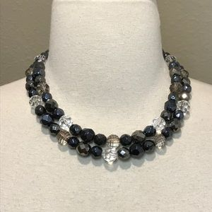 Maurices Double Strand Necklace Multicolor New